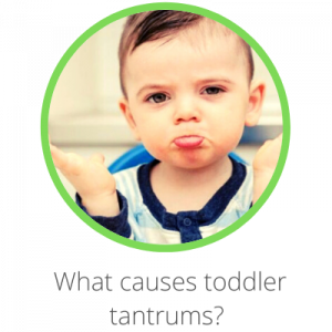 What causes toddler tantrums? Contents page. Toddler shrugging