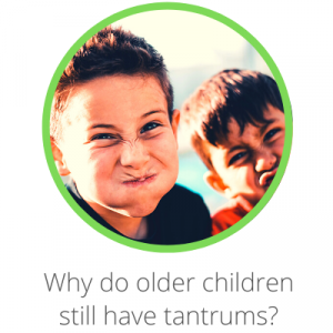 Why do older children still have tantrums? Contents page. 2 boys making funny faces